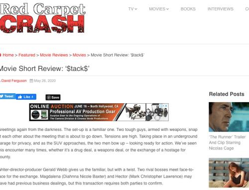 RED CARPET CRASH REVIEWS $TACK$