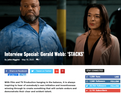FILM AND TV NOW INTERVIEWS $TACK$ DIRECTOR GERALD WEBB